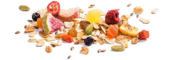 Muesli Fruit + Seeds